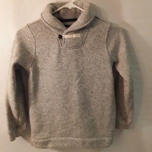Oshkosh Fleece lined Pullover Knit sweatshirt size